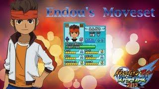 Endou's Moveset in Inazuma Eleven Go Strikers 2013