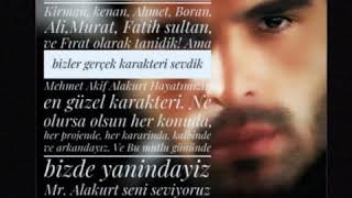 Iyi ki doğdun Mehmet Akif Alakurt