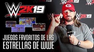 3D Juegos desvela los juegos favoritos de los luchadores de WWE
