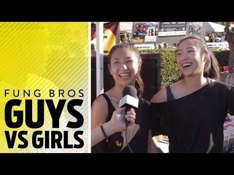 ASIAN GIRLS vs. ASIAN GUYS