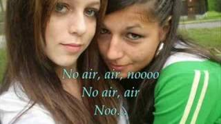 Jordin Sparks & Chris Brown - No Air with Lyric