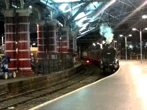 Union Of South Africa Lime St Station Liverpool RailTours 29th July 2012