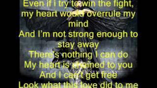 Apocalyptica ft  Brent Smith   Not Strong Enough Lyrics