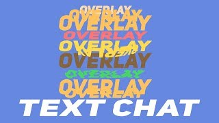 This Will Be The Title For The Discord Text Chat Overlay Youtube Video