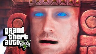 Temple Tantrum - GTA 5 Funny Moments