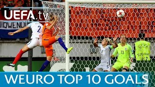 Women's EURO 2017: The top ten goals featuring Miedema, Taylor and Nielsen