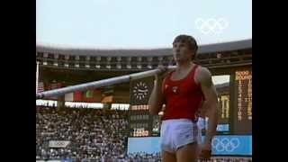 Sergey Bubka's Gold Medal & Olympic Record - Seoul 1988 Olympics