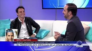 La Opera Naples presenta al tenor argentino Santiago Ballerini