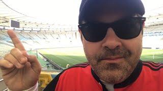 Mosaico sendo feito no Maracanã! Flamengo x Cruzeiro! Final da Copa do Brasil 2017!