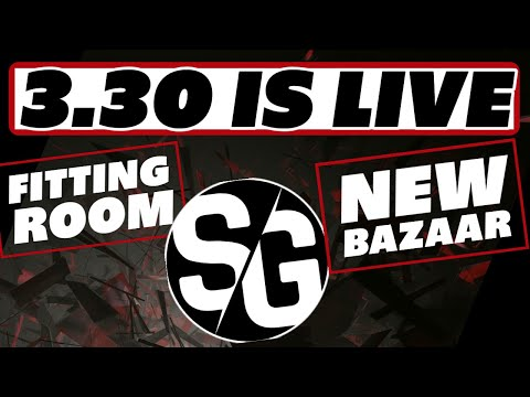 3.30 is LIVE! fitting room & new bazaar Raid Shadow Legends