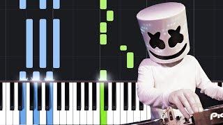 Marshmello - Check This Out (Piano Tutorial)
