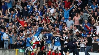Stealing The Points.  Partick Thistle Vs Rangers