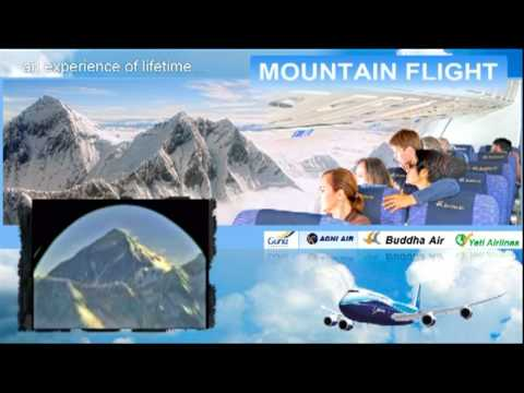 Mountain Flight in Nepal – Spectacular View of the Mount Everest