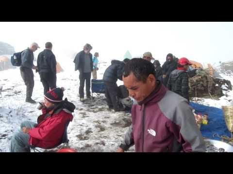 Mit Reinhold Messner in Nepal 2010