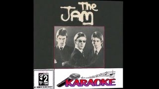 The Jam Karaoke version /going underground