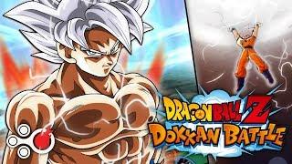 Mastered Ultra Instinct Goku Showcase - Dragon Ball Z: Dokkan Battle