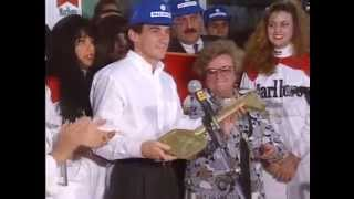 Ayrton Senna 1991 Chega ao Brasil Depois do Tricampeonato