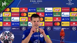 There is no better player in world football than Ngolo Kante says Cesar Azpilicueta after UCL final