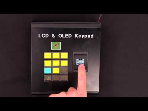 LCD and OLED Keypad