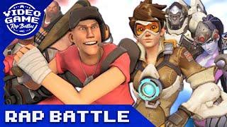 Overwatch vs. Team Fortress 2 - Video Game Rap Battle