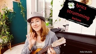 Hallelujah - Ukulele Cover - Jeff Buckley - strumming & lyrics below
