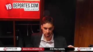Pau Gasol Chicago Bulls 90-atlanta hawks 113