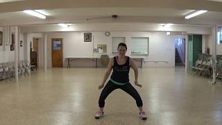 """Outcast"" Kerrie Roberts - DANCE FITNESS - PraiseFIT - FIT Force 3 - CHRISTIAN ZUMBA Workout"