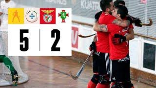 Resum del SL Benfica 5-2 SC Tomar