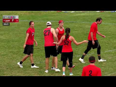 Video Thumbnail: 2019 Pro Championships, Mixed Quarterfinal: Denver Love Tractor vs. Fort Collins Shame