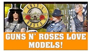 Guns N' Roses Love Models, Especially Axl On the Not In This Lifetime Tour (2016)