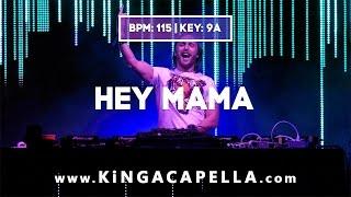 David Guetta ft. Nicki Minaj, Bebe Rexha & Afrojack - Hey Mama (Studio Acapella)