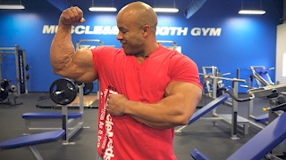 2 Exercises to Build Bigger Bicep Peaks With Victor Martinez