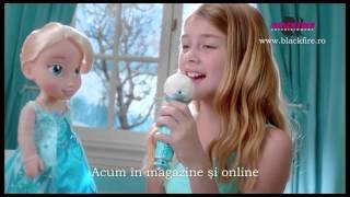 Papusa Karaoke Elsa Frozen Singalong Elsa Blackfire Romania