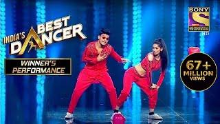 Tiger और Vartika ने दिया एक Sensational Performance | India's Best Dancer | Winner's Performance