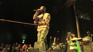 GOLDLINK - WITH A SIDE OF MASEGO AND EDAMAME - LIVE @ OBSERVATORY OC - 4.18.2017