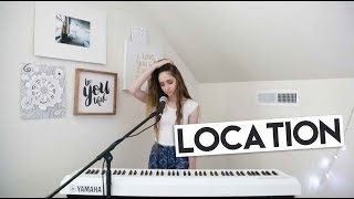Location - Khalid Cover // Nicole Starr Live Sessions //