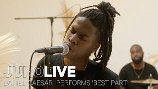 Daniel Caesar performs 'Best Part' on JUNO LIVE | JUNO TV