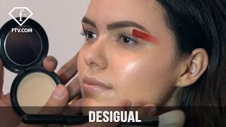 New York Fashion Week Fall/WItner 2017-18 - Desigual Make up | FashionTV
