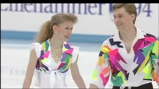 [HD] Oksana Baiul and Viktor Petrenko - 1994 Lillehammer Olympic - Exhibition