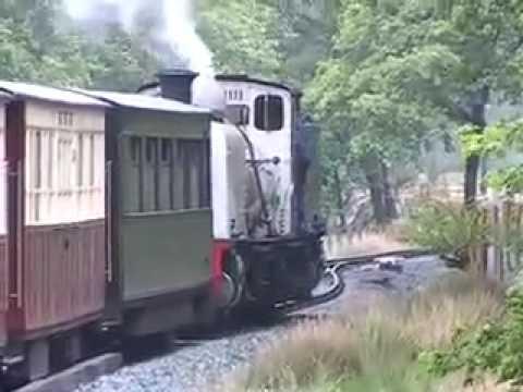 Beyer Garratt No 87 on the Welsh Highland Railway Part 3 of 5