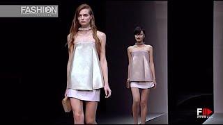 EMPORIO ARMANI Spring Summer 2013 Milan - Fashion Channel