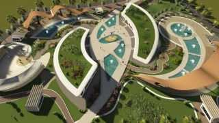 landscape design making by 3d max and Render by lumion