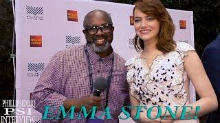 Emma Stone and Phillip Siddiq for LA LA LAND!