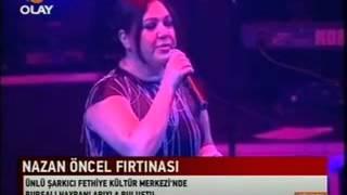 Nazan Öncel Konseri Haberi, Olay TV