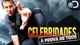 Bear Grylls desafia os famosos em Celebridades à Prova de Tudo l Discovery Channel