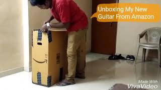 Unboxing My New Guitar From Amazon
