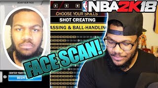 NBA 2k18 MyCAREER Prelude  PERFECT FACESCAN! Marcus Gento is BACK! Ep. 0