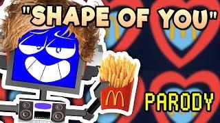 """Shape of You"" MCDONALDS PARODY (Ed Sheeran Cover) ► Fandroid   200K Subscribers!!!"
