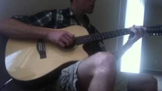 The Gael (Last of the Mohicans theme) 12 String Guitar Cover
