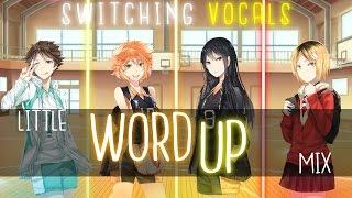 Nightcore ↬ Word up [Switching vocals | Little Mix]